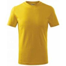 Adler tričko dětské Basic žluté