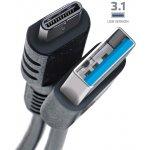 CELLY Datový a nabíjecí USB kabel s konektorem USB-C, 1m