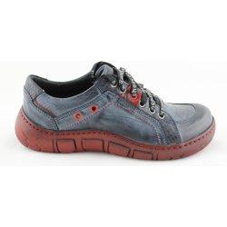 08e9af1bc03 Dámská obuv Kacper 2-1166 Dámské boty modré