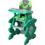 Caretero Primus zelená jídelní židlička