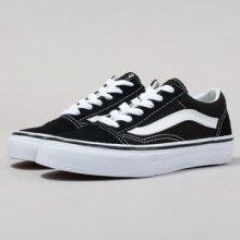 Vans Old Skool black   true white bd6a7410b69