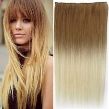 Clip in pás - ombre styl - plavá - blond 27t613