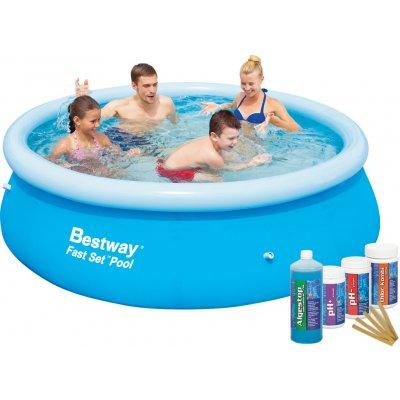 Bestway 57265CH Bazén Fast Set 2,44 x 0,66 m s bazénovou chemií