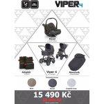 ABC Design SET Viper 4 2017 Graphite šedý