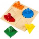 Montessori puzzle geometrické tvary
