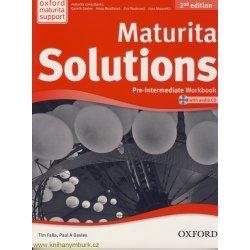 MATURITA SOLUTIONS 2nd Edition PRE-INTERMEDIATE WORKBOOK WIT