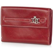 Castelijn & Beerens 393042 dámská kožená peněženka červená