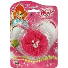 4514e6d4161 Sponka do vlasů Winx Club Sponka do vlasů s perlou WinX tmavě růžová