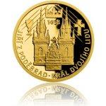 Česká mincovna Zlatá mince Doba Jiřího z Poděbrad Král dvojího lidu 3,11 g