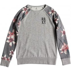 e5f7bbe4e3 Roxy Sunrise Delicacy Charcoal Heather Flower Field alternativy ...