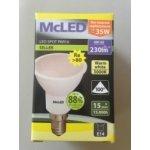 McLED LED žárovka 4W E14 Teplá bílá