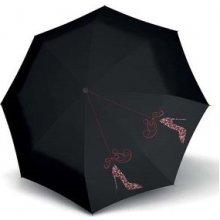 Doppler Dámský skládací plně automatický deštník Fiber Magic Shoemania 746165SM