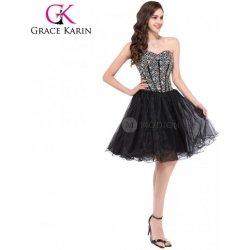 Položit otázku GRACE KARIN Černé koktejlové šaty plesové CL3520-2 ... 948e7ad1b8