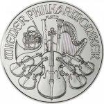 Wiener Philharmoniker 1 oz 0,9995 Pt Rakousko Austrian Mint STANDARD