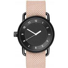 TID Watches No.1 Black / Salmon Twain Wristband