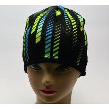 RDX zimní čepice funkční 3686 pruhy světle zelená 2b93833e1a