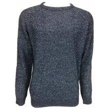 F&F pánský svetr tmavě modrý