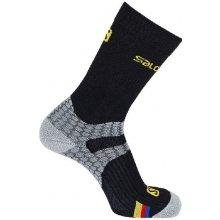 Salomon ponožky Nordic S-LAB EXO black/grey 16/17