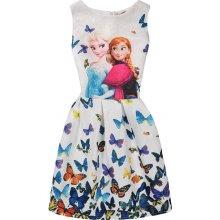 Letní šaty z pohádky Frozen s