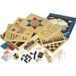 Dřevěný soubor her 100
