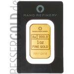 Rand Refinery Zlatý slitek 1 Oz