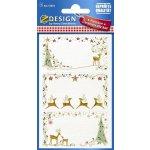 Avery Zweckform Z-design samolepící štítky na vánoční dárky 52814