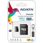 ADATA SDHC 16GB UHS-I U1 AUSDH16GUICL10A1-RA1