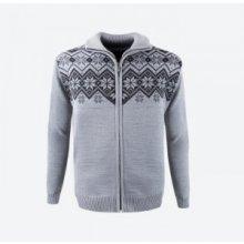 KAMA svetr bez podšívky 4051 - šedý