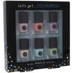 2K Let´s Get Colourful Pastels Nail Polish lak na nehty 6 x 5 ml dárková sada