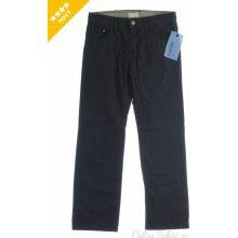 ESPRIT Pánské plátěné kalhoty černá
