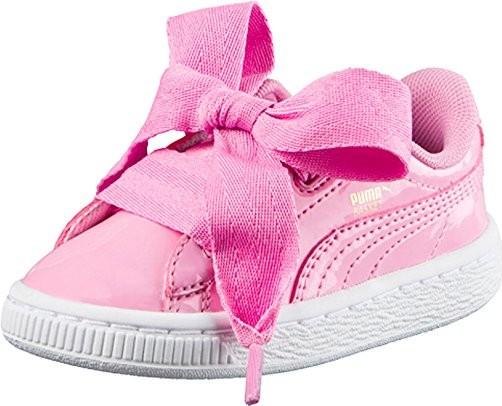 1566677c86c Puma Dívčí tenisky s mašlí růžové
