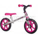Smoby balanční First bike růžové