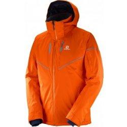 Salomon Stormrace jacket vivid orange 397360 nepromokavá zimní bunda od 5  590 Kč - Heureka.cz 39eb2e4e471