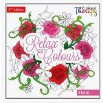 Relaxační omalovánky 2 Edition Floral 75542