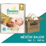 Pampers Premium Care Plenky 2 Mini 3-6 Kg 160 ks