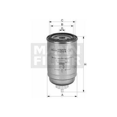 Filtr palivový MANN MF WK9029 Miss Sixty 4011558026400