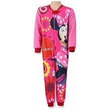 Setino Dívčí pyžamo overal Minnie červený
