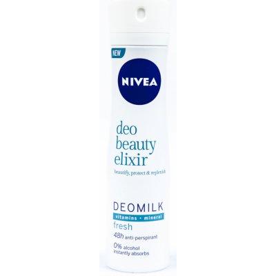 Nivea Deo Beauty Elixir Fresh Deomilk deospray 150 ml