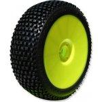 PROCIRCUIT MARATHON super soft/fialová směs Off-Road 1:8 Buggy gumy nalep. na žlutých disk. 4ks
