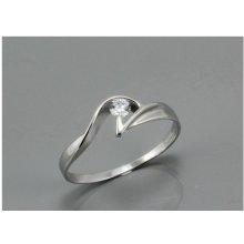 540602ceb ZODIAX Dámský prsten z bílého zlata 1839