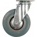 Otočné kolečko, gumové 45kg 100/26/134mm