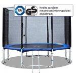 Trampolína Fitness King 305 cm + ochranná síť + žebřík