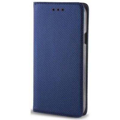 Pouzdro Huawei Y6s Honor 8A Smart magnet navy modré TFO