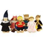 Bigjigs panenky Set královské rodinky 6ks
