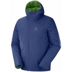 212c791637f Salomon pánská bunda Drifter Loft Hoodie modrá zelená od 3 913 Kč ...