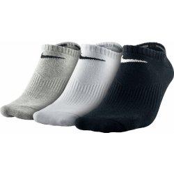 Nike ponožky 3 PPK lightweight crew no show Whithe Black Grey ... 7ff26a2f3f