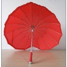Deštník Srdce červená