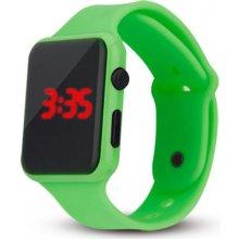 97b3d742d Digitální silikonové hodinky - zelená