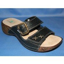 zdravotní pantofle SANTÉ 109 1-06 Černé 04ab352297