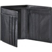 SAMSONITE peněženka pánská Success 61U 09014 na výšku kožená bez kapsy na  drobné černá 393ff8d973
